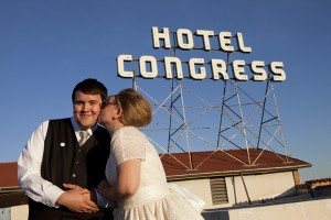 Our Wedding Portraits in downtown Tucson